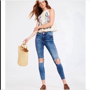 3/$25 SALE Free People High Rise Jeans